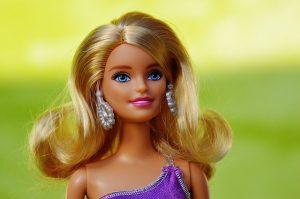 A Barbie doll.