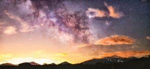 Sky over Rocky Mountain