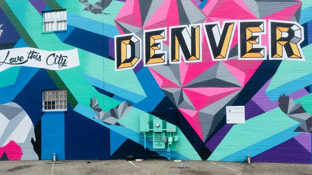 Denver street artwork photo