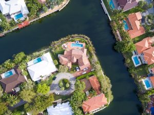 Residential properties in Miami in Sount Florida.